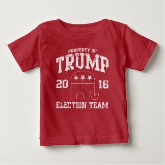 Cute Trump 2016 Republican Election Team Baby T-Shirt
