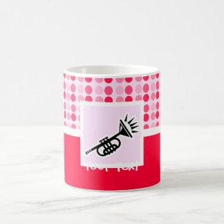 Cute Trumpet Classic White Coffee Mug