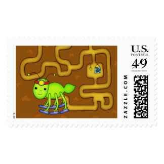 Cute Tunneling Kawaii Ant, $0.49 (1st Class 1oz) Postage