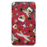 Cute Turban Pirate itouch Case iPod Case-Mate Cases