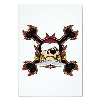 Cute Turban Pirate RSVP Card