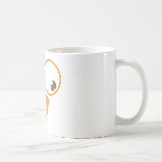 Cute turkey face coffee mug