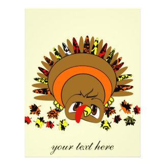 Cute Turkey Flyer
