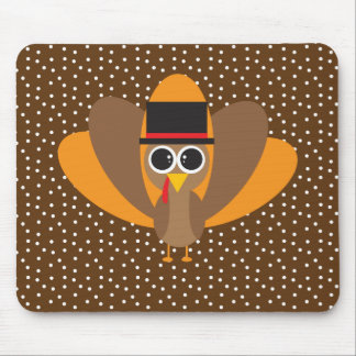 Cute Turkey Mouse Pad