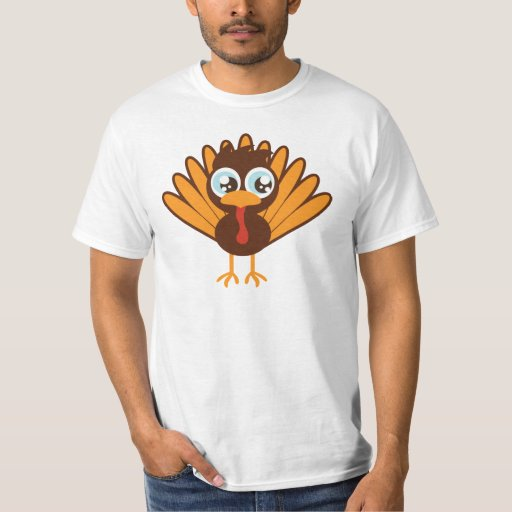 Cute Turkey T-Shirt