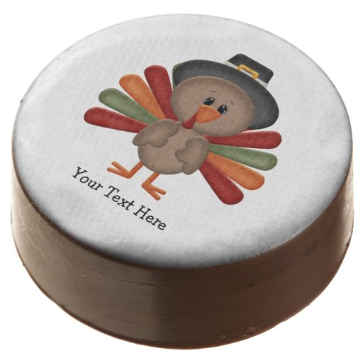 Cute Turkey Thanksgiving Chocolate Covered Oreo