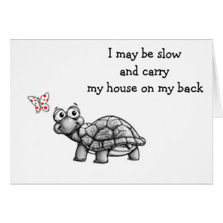 CUTE TURLE WISHES SISTER BEST BIRTHDAY EVER CARD