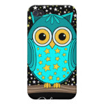 cute turquoise owl cases for iPhone 4