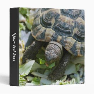 Cute Turtle 3 Ring Binder