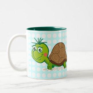 Cute Turtle and Bubbles mug