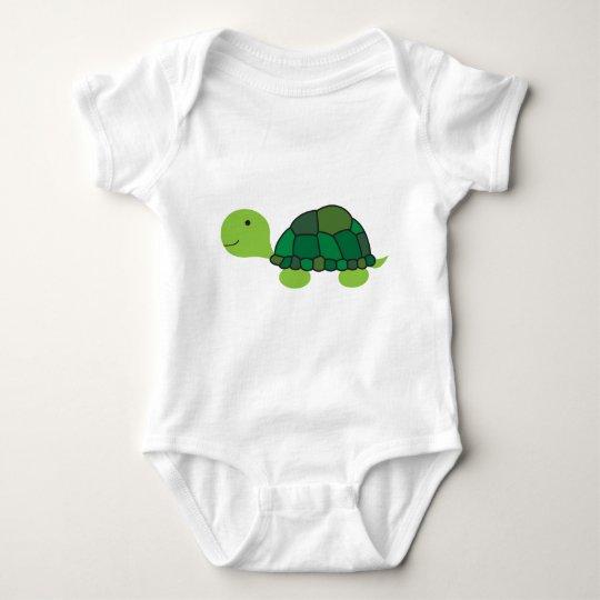 Cute Turtle Baby Bodysuit