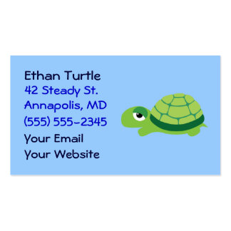 Cute Turtle Business Cards