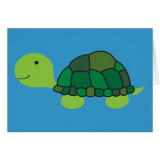 Cute Turtle Card