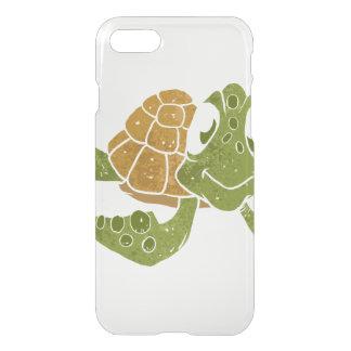 Cute turtle cartoon. iPhone 8/7 case