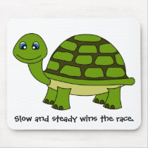 Cute Turtle Cartoon Mouse Pad