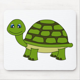 Cute Turtle Cartoon Mouse Pad