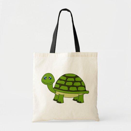 Cute Turtle Cartoon Tote Bag