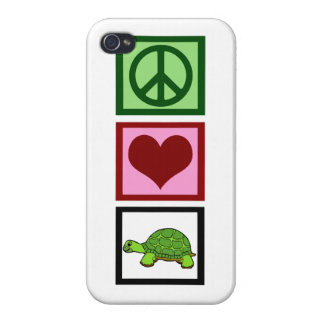 Cute Turtle Cover For iPhone 4