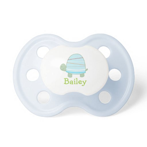 Cute Turtle Customized Baby Pacifier