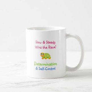 Cute Turtle & Determination Coffee Mug