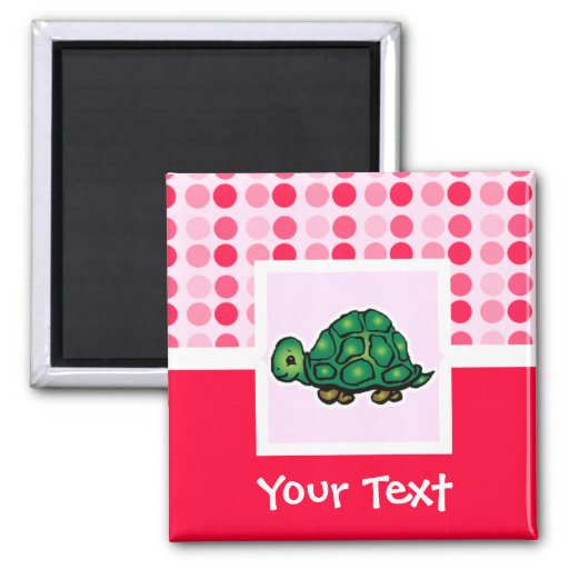 Cute Turtle Fridge Magnet