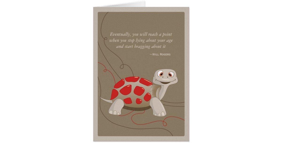 Cute turtle happy birthday card zazzle bookmarktalkfo Images