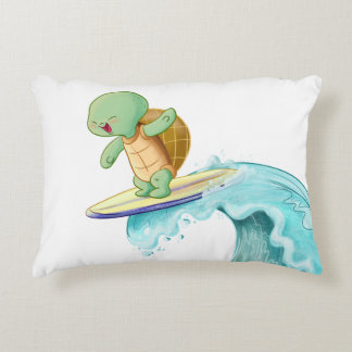 Cute Turtle Kawaii Accent Pillow