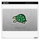 Cute Turtle; Metal-look Skin For MacBook