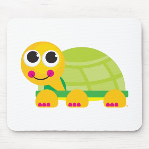 Cute Turtle Mouse Pad