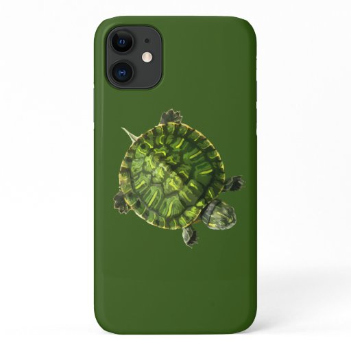 Cute Turtle Nature Theme iPhone 11 Case