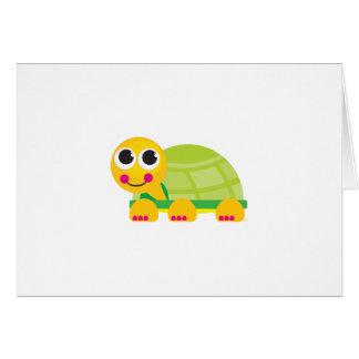 Cute Turtle Notecard