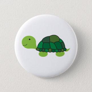 Cute Turtle Pinback Button
