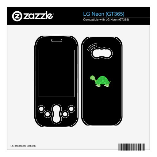 Cute turtle skins for LG neon