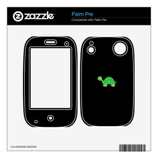 Cute turtle decal for palm pre