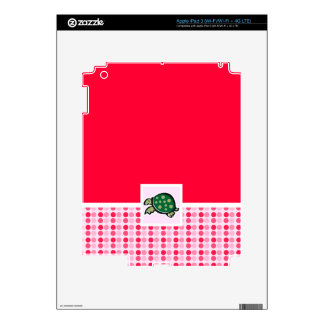 Cute Turtle Decal For iPad 3