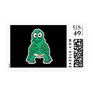cute turtle stamp