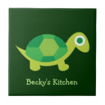 Cute Turtle Trivet Tile