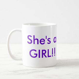 Cute Tutu New baby girl Mug