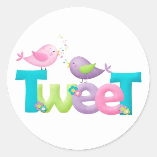 Cute Tweet Birds Sticker