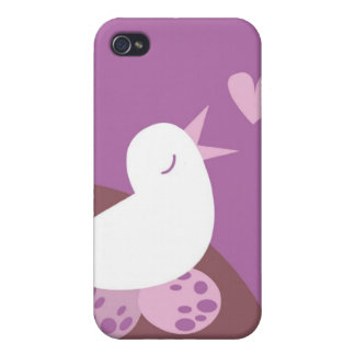 Cute tweeter love bird cover for iPhone 4