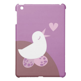 Cute tweeter love bird iPad mini case