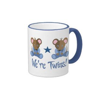 Cute Twin Boy Mice Gift Coffee Mugs