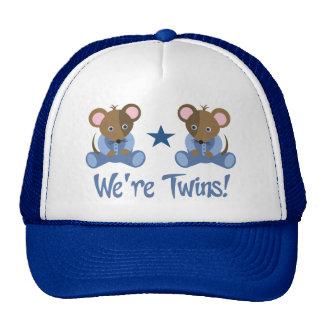 Cute Twin Boy Mice Gift Hats