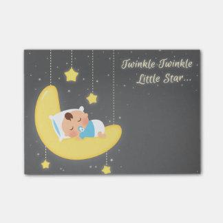 Cute Twinkle Twinkle Little Star Baby Boy Post-it® Notes