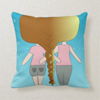 Cute Twins Chibi Style Pillows (<em>$34.65</em>)