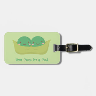 Cute Two Peas in a Pod For Mommy Bag Tag