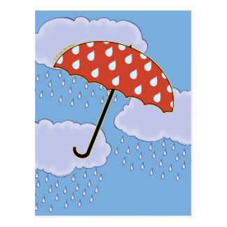 Cute Umbrella Postcards