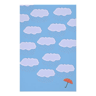 Cute Umbrella Stationery