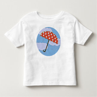 Cute Umbrella Toddler Tees