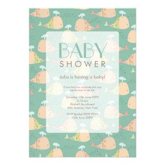 Cute Under the Sea Baby Shower Invite